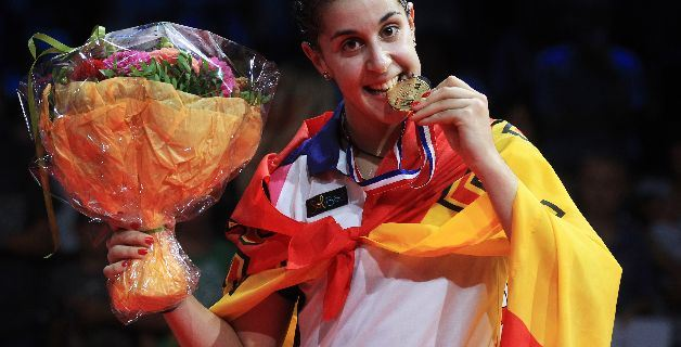 Carolina Marín campeona del mundo